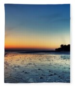 Sanibel Sunrise Fleece Blanket