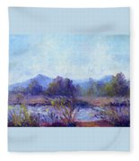 Santa Ana River Fleece Blanket