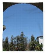 Santa Barbara Sky Fleece Blanket