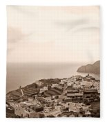Santa Catalina At La Gomera Fleece Blanket