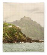 Santa Clara Island Fleece Blanket