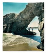 Santa Cruz Beach Arch Fleece Blanket