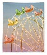 Santa Cruz Ferris Wheel Fleece Blanket