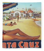 Santa Cruz For Youz Fleece Blanket