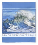 Santa Cruz Fleece Blanket