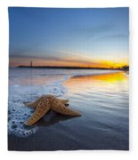 Santa Cruz Starfish Fleece Blanket