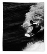 Santa Cruz Surfer Dude Fleece Blanket