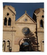 Santa Fe Church Fleece Blanket