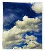 Santa Fe Clouds Fleece Blanket