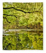 Santa Fe River Fleece Blanket