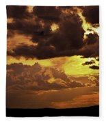 Santa Fe Sunset Fleece Blanket