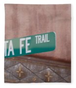 Santa Fe Trail Fleece Blanket