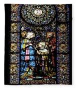 Santa Maria De Montserrat Abbey 2 Fleece Blanket