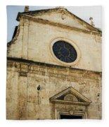 Santa Maria Del Popolo Fleece Blanket