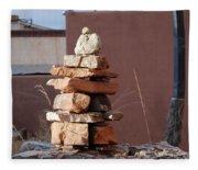 Sante Fe Rocks Fleece Blanket