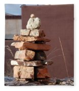 Sante Fe Rocks Fleece Blanket