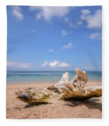 Sanur Beach - Bali Fleece Blanket