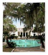 Sapelo Mansion  Fleece Blanket