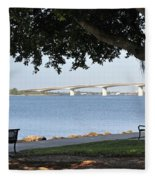 Sarasota Life 03 Fleece Blanket