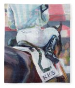 Saratoga Stripes Fleece Blanket