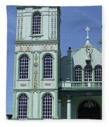 Sarchi Church 3 Fleece Blanket