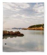 Sardinian Coast I Fleece Blanket