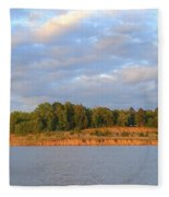 Sardis Lake Fleece Blanket