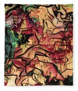 Sargam Abstract A1 Fleece Blanket