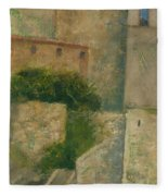 Sartene Corsica Fleece Blanket