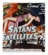 Satan's Satellites Fleece Blanket