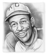 Satchel Paige II Fleece Blanket