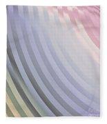 Satin Movements Lavender Fleece Blanket