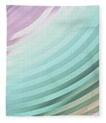 Satin Movements Sky Blue Fleece Blanket