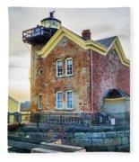 Saugerties Lighthouse Fleece Blanket