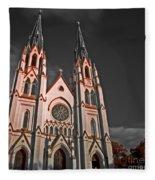 Savanna Georia Church Color Infrared 74 Fleece Blanket