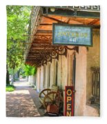 Savannah Antique Shop Fleece Blanket