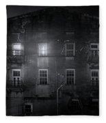 Savannah By Night Fleece Blanket