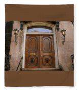 Savannah Doors I Fleece Blanket