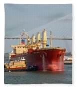 Savannah River Scenic Fleece Blanket