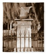 Savannah Sepia - Broken Fleece Blanket