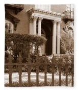 Savannah Sepia - Mercer House Fleece Blanket