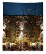 Savannah's Historic River Street Fleece Blanket
