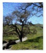 Save The Oaks Fleece Blanket