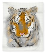 Save The Tiger Fleece Blanket