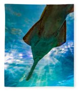 Sawfish Fleece Blanket