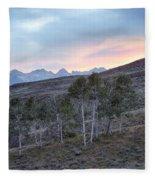 Sawtooth Light Fleece Blanket