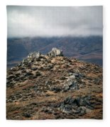 Sawtooth Mountains Fleece Blanket