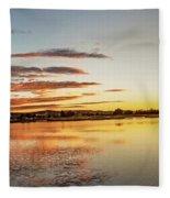 Sawyer Pond  Fleece Blanket