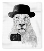 Say My Name Fleece Blanket