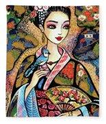 Sayuri Fleece Blanket